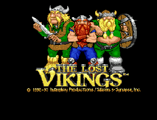 Screenshot Thumbnail / Media File 1 for Lost Vikings, The (1993)(Interplay)[!]